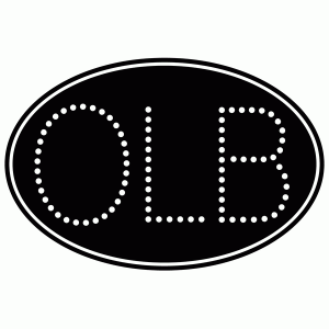 OLB bumper sticker