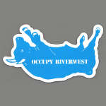 Occupy Riverwest sticker