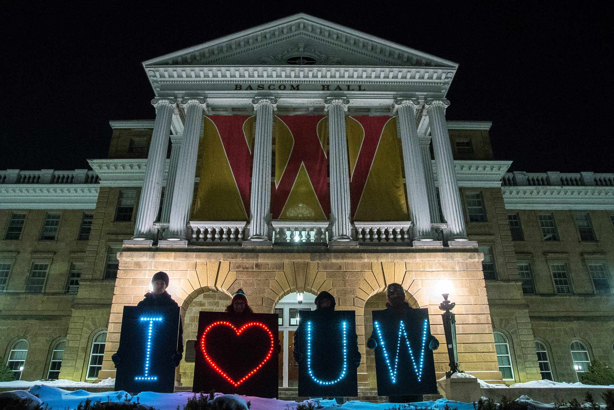 The Holders of the Light held a series of messages at Bascom Hall on Saturday night.