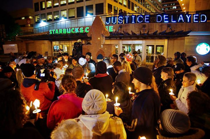 We held this message at a vigil at Red Arrow Park in September of 2014.