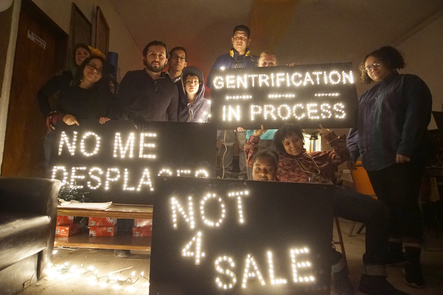illumination against gentrification