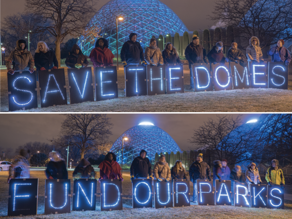Photo credits: Joe Brusky - Overpass Light Brigade
